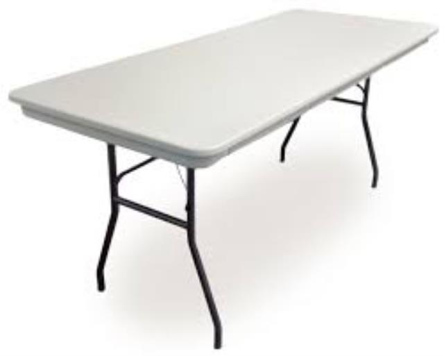 Where to find TABLE 6  PLASTIC in Garland