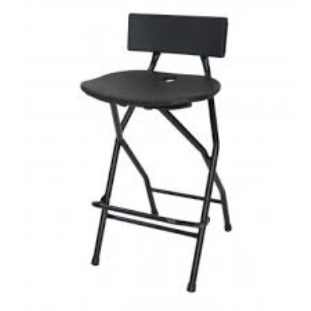 Where to find CHAIR BLACK BARSTOOL in Garland