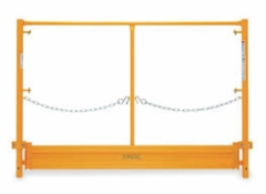 Where to rent SCAFFOLDING GUARD RAILS  PAIR in Garland TX