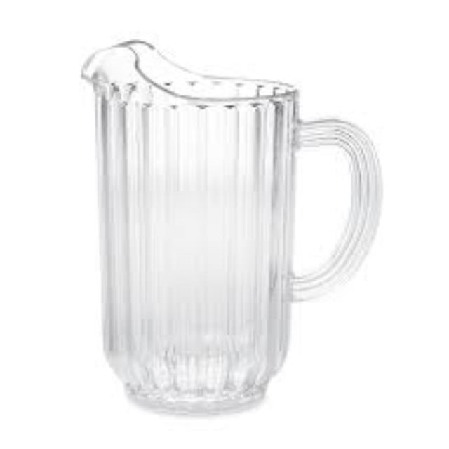 Where to find PITCHER, PLASTIC 48 OZ in Garland