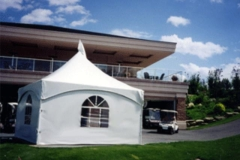 Rental store for CANOPY, 15X15  FRAME TENT in Garland TX