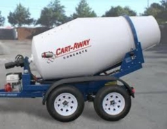Rental store for CONCRETE MIXER TRAILER in Garland TX