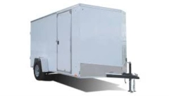 Rental store for TRAILER, ENCLOSED 6 X12 in Garland TX