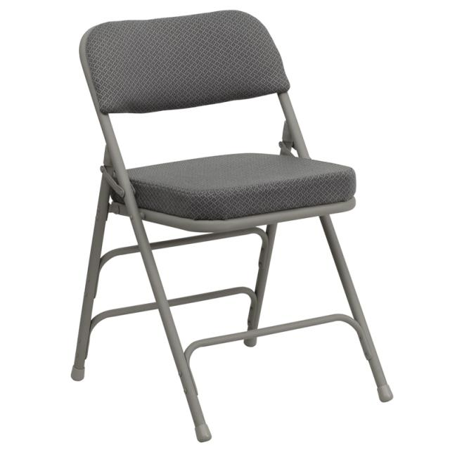 Where to find CHAIR, GREY PADDED in Garland