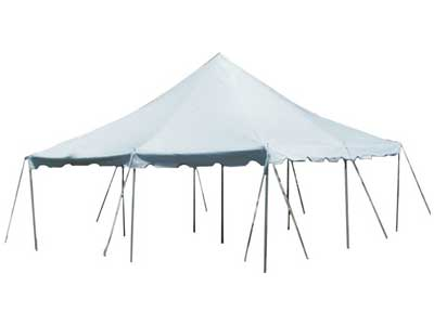 Canopy tent rentals in Dallas TX